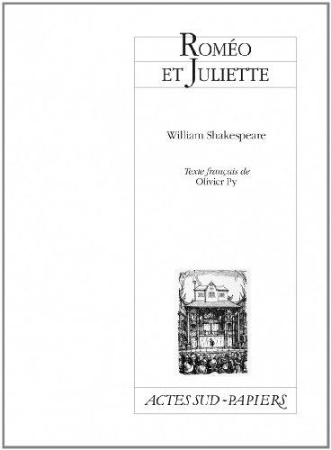 Roméo et Juliette par William Shakespeare