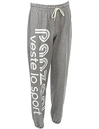 Panzeri - Uni h grc/blc jersey - Pantalon de survêtement