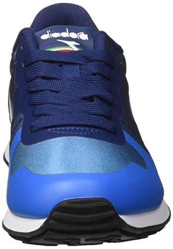 Diadora Unisex-Erwachsene Camaro mm Sneaker Low Hals Blau (Blu Francese/blu Estate)