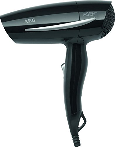 Haartrockner Haar-Fön Haar Föhn Harfön Haarföhn 2-Stufen (leistungsstarke 1200 Watt + schwarz)