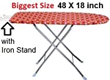#4: TruGood Folding Ironing Board Iron Table with PRESS Stand - XL
