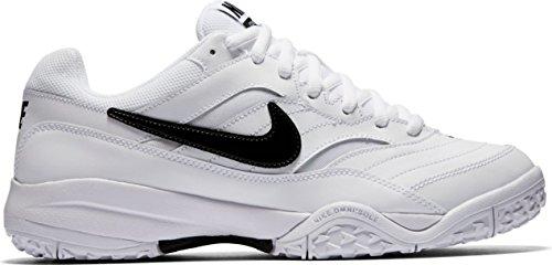 Nike  845027-100, Sneakers homme White/Black-Medium Silver