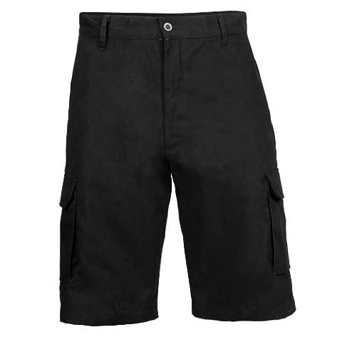 RTY Workwear - Short cargo de travail - Homme (3XL - 102/107cm) (Noir)