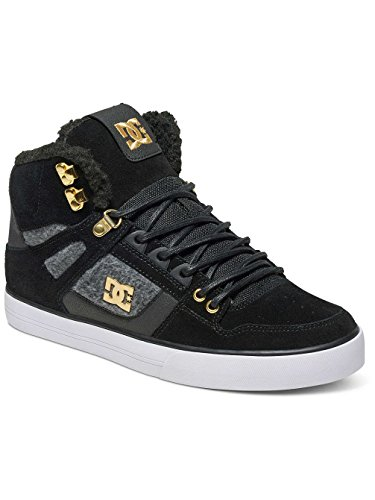 DC Shoes  SPARTAN HIGH WC, Baskets hautes homme Noir - Black/Gold