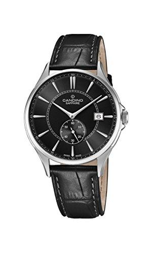 Candino Reloj Análogo clásico para Hombre de Cuarzo con Correa en Cuero C4634/4