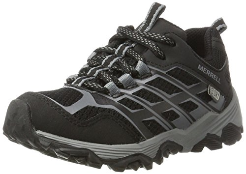 Merrell ML-b Moab Fst Low Waterpoof Zapatillas de Senderismo Niños, Negro (Black), 37 EU (5 UK)