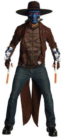 Star Wars Clone Wars Deluxe Herren Kostüm Cad Bane Größe XL (Star Wars Darth Vader Deluxe Kostüm Herren)