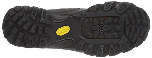 Shimano E-SHMT54L Unisex-Erwachsene Radsportschuhe - Mountainbike Schwarz (Black) A1BpJ