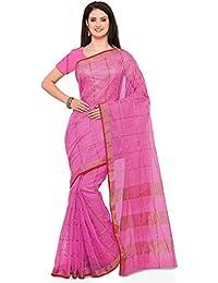 Saree Mall Art Silk Saree With Blouse ( Pink_sarees Latest Design 2RGO2037 )