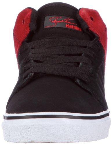 Etnies SHECKLER 5 FUSION Sheckler 5 Fusion, Baskets mode homme Noir (Noir/rouge)