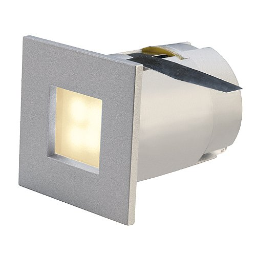 Slv mini frame led - Luminaria empotrar 0,3w+lámpara blanco calida