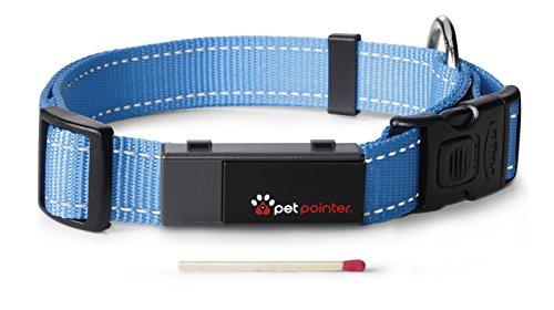 Petpointer - kleinster GPS Tracker für Tiere (Hund, Katze, Pferd, etc.) / ultimativer Schutz für Ihr Haustier / inkl. App für Ihr Smartphone -