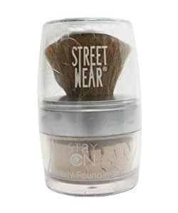 Street Wear Stay On Mineral Foundation, Toast, 9g