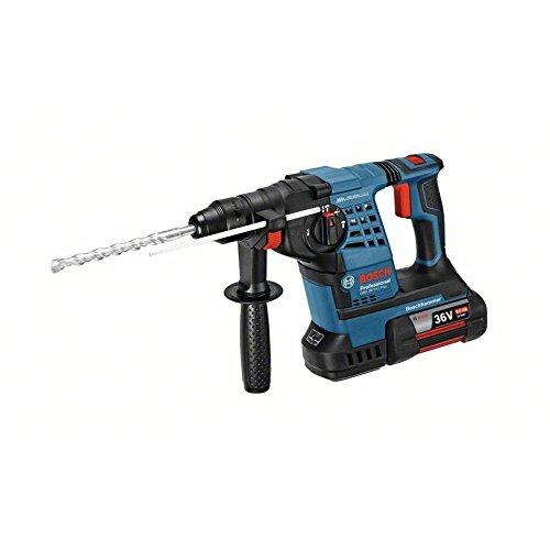 Bosch Akku-Schlagbohrhammer GBH 36 V-LI Plus | mit 2 x 6 |0 Ah Li-Ion Akku | L-BOXX