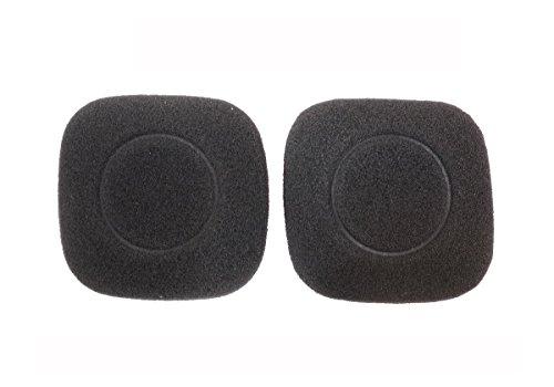 2paio Ear Pad auricolari spugna cuscino parti di riparazione per Logitech wireless Headset H150H130H250H151cuffie (Earmuffes)