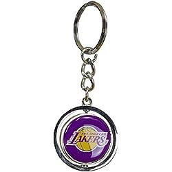 WinCraft Spinner Llavero NBA Varios Equipos, L.A. Lakers, talla única