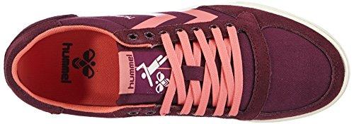 Hummel - Hummel Sl Stadil Pastels Lo, Sneaker basse Donna Viola (Violett (Grape Wine 3506))