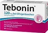 Tebonin 120 mg bei Ohrgeräuschen Filmtabletten 60 stk