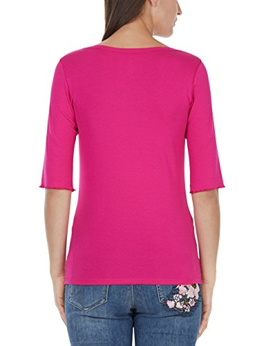 Marc Cain Collections Damen T-Shirt Rosa (Pop Pink 268)