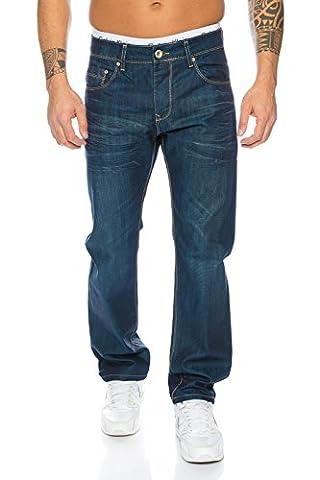 Rock Creek Herren Jeans Blau LL-308 [W38