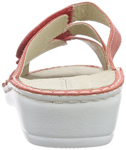 Hans Red 70 Ladies Herrmann rosso Bianco Hhc S Collection Clogs rqrS6