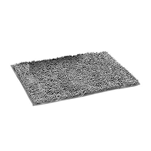 EisEyen Chenille Badezimmerteppich Badematte Rutschfest Badvorleger Weich Badteppich Waschbar 40×60cm / 50×80cm / 60×90cm -