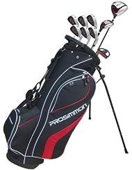 Prosimmon V7 Golfset SCHWARZ - 1 Inch küzer
