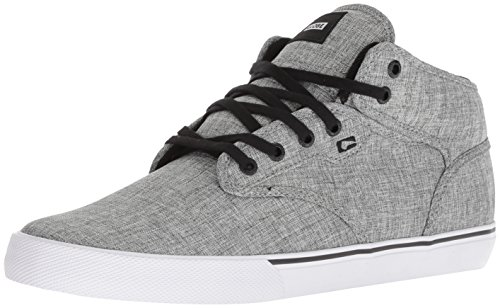 differently 46ffc b20c0 Globe Motley Mid, Zapatos Altos Hombre, Gris (Black Mottled Chambray), 47