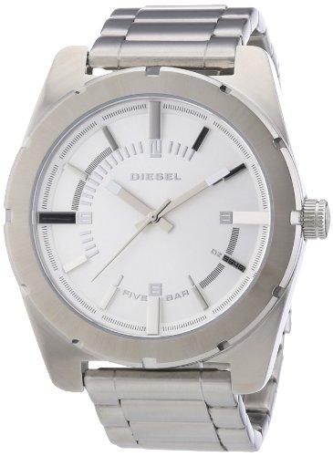 Diesel-Good-Company-DZ5346-Reloj-para-mujeres-correa-de-acero-inoxidable-color-plateado