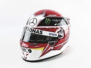 Mini Helmet 4103533 - Coche en Miniatura, Color Blanco, Rojo y Negro