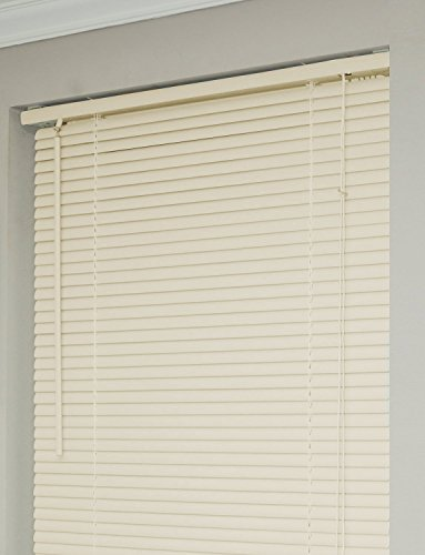 Achim Home Furnishings 1-Inch Wide Window Blinds, 28 by 72-Inch, Alabaster by Achim Home