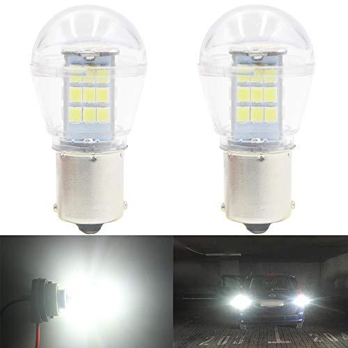 Ersatz-7506 (AMAZENAR 2-Pack 1156 7506 1141 1003 1073 Extrem Helle Rot Licht 10-30V-DC, Ersatz für Bremslicht Lampen Glühbirnen Rücklicht Zusatzbremsleuchten)