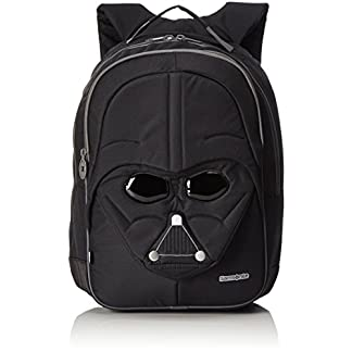 41luXQKwzwL. SS324  - Disney Star Wars Ultimate M Mochila Infantil, 20 litros, Color Negro