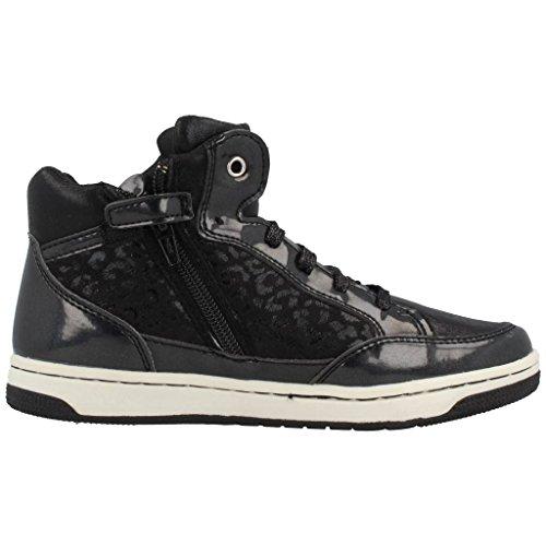 Geox Jr Creamy A, Sneaker, Ragazza Nero
