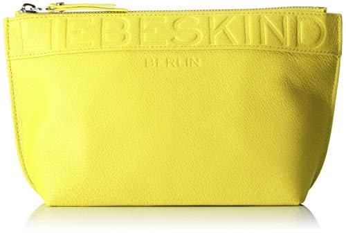 Liebeskind Berlin Urrhodew8 Urban Damen Kosmetiktasche, 9x26x15 cm (B x H x T), Gelb (Senf Yellow)