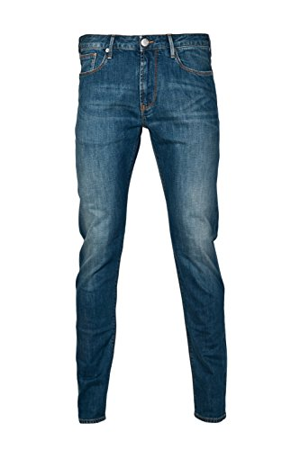Armani Jeans J06 Slim Tapered Fit Jeans BLUE 36R