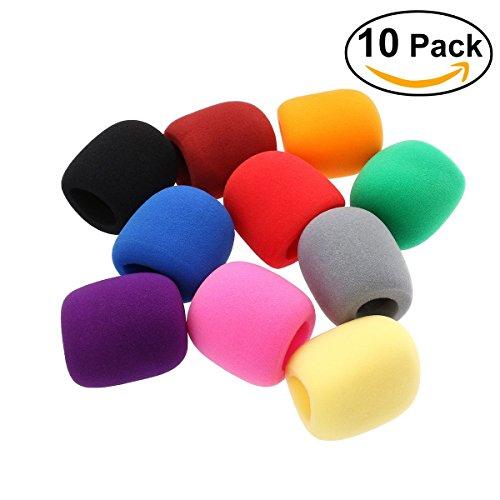legowr-10-couleurs-pack-couverture-de-microphone-etape-microphone-bonnette-mousse-couverture-eponge-