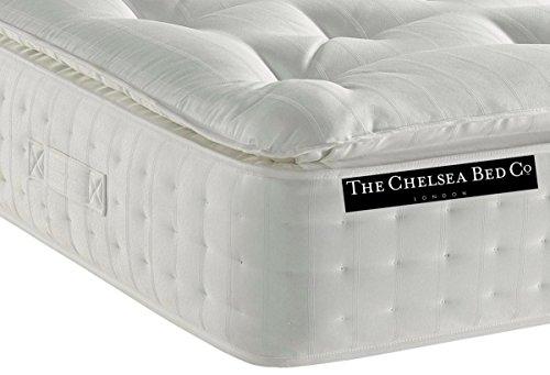 Pocket-memory-foam-matratze (The Chelsea Bed Co 3000Pocket, Memory Foam Matratze mit Kopfkissen, weiß, Doppelbett)