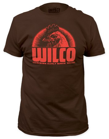 Wilco Rising Early Since '94 Rooster T-Shirt X-Large