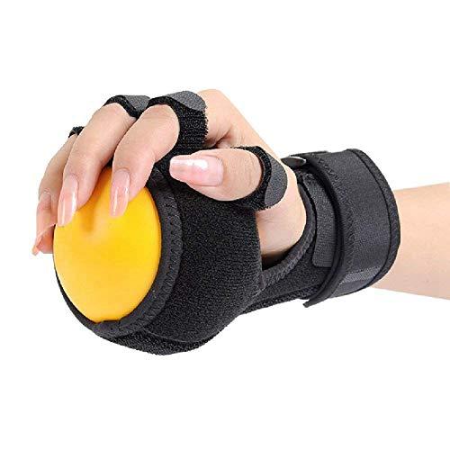 TOOGOO Anti-Spastik Kugel Splint Hand Funktionsbeeintraechtigung Finger Orthese Handball Rehabilitation uebung -