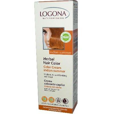 Logona. Color Creme Indian Summer, LOGONA Pflanzen-Haarfar. 150ml