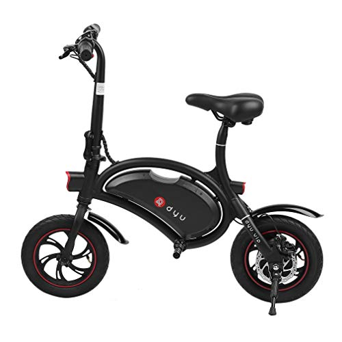 "BlackEdragon Hehilark Elektrofahrrad Elektrofahrräder E-Faltrad Electric Bicycle E-Bike Roller 12\"" Zoll Pedelec Klapprad Faltrad 20km/h - Schnelle Aufladung,Rahmenintegrierter Akku (Schwarz)"