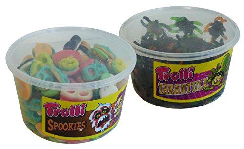 Preisvergleich Produktbild Halloween Horror Combo mit Trolli Grusel - Spezialitäten,  1er Pack (1 x 2, 1kg)