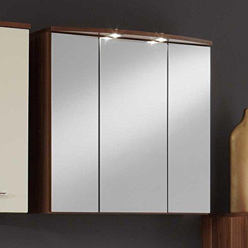 Spiegelschrank Nussbaum 70 cm