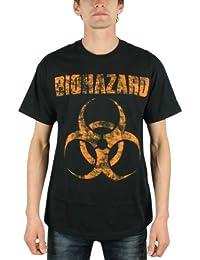 Biohazard - - Les hommes en difficulté Logo T-shirt In Black