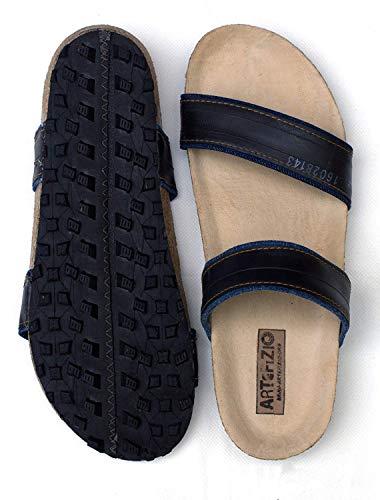 Sandali unisex fatti a mano con pneumatici di bicicletta, jeans e pelle // sandali per uomo e donna upcycling design