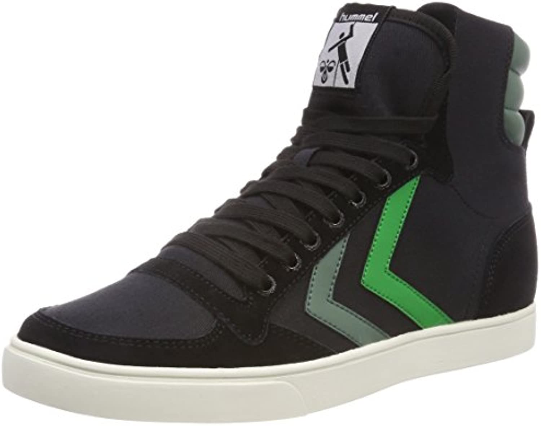 Hummel Unisex Erwachsene Slimmer Stadil Duo Canvas High Hohe Sneaker