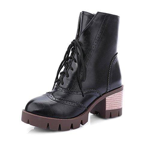 A&N ,  Damen Chukka Boots , schwarz - schwarz - Größe: 35.5 Low Harness Boot