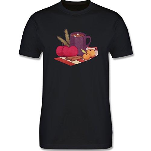 Statement Shirts - Apples and Cinnamon - Herren Premium T-Shirt Schwarz