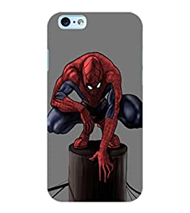 ColourCraft Superhero Design Back Case Cover for APPLE IPHONE 6